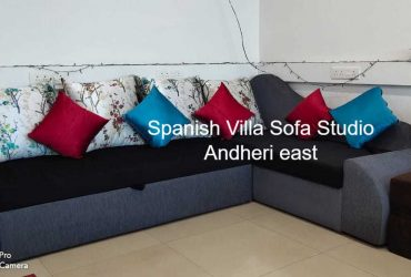 Sofa cum bed with storage in excellent design in awesome fabric.