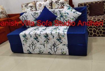 Sofacum bed 5×6 low weight easy to shift and washable cover