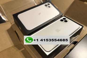 APPLE IPHONE 11 PRO MAX SILVER 512GB UNLOCKED Whatsapp chat +14153554685