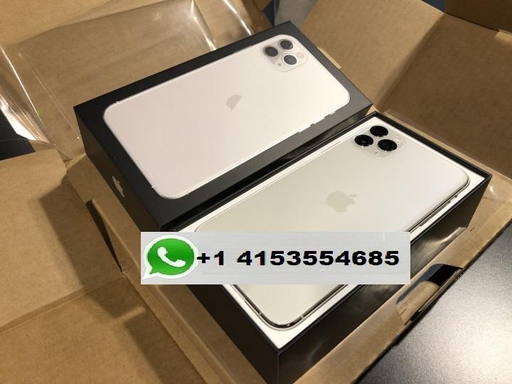 APPLE IPHONE 11 PRO MAX SILVER 512GB UNLOCKED Whatsapp chat +14153554685