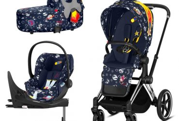 Cybex Priam Travel System – Space Rocket