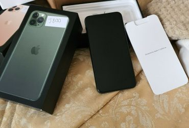 Apple IPhone 11 Pro Max – ALL GB – (Unlocked) A2218 Sealed