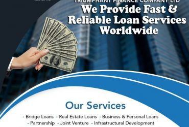 We provide reliable loan services